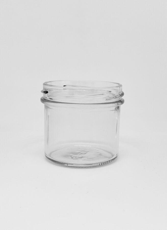 125 ml cilindriska stikla burka